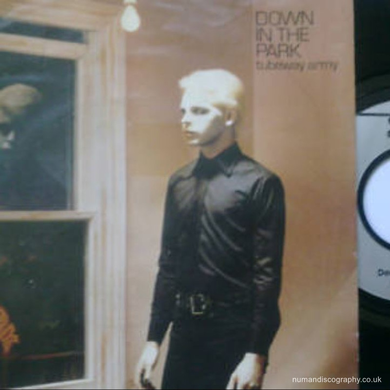 Tubeway Army Down In The Park 1979 Holland