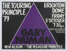 Gary Numan Brighton Poster 1979 UK
