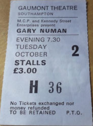 Southampton Gaumont Theatre Ticket