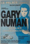 Gary Numan Touring principle Poster 1980 France