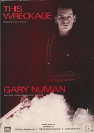 Gary Numan This Wreckage Poster 1980 UK