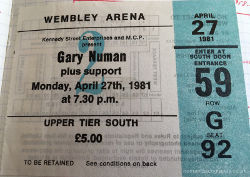 London Ticket 1981