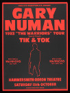 Gary Numan Warriors London 1983 UK