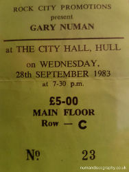 Hull Ticket
