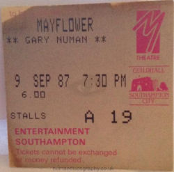 Southampton Ticket 1987