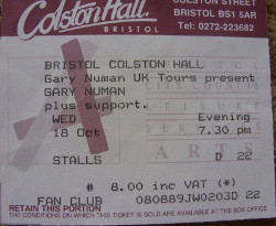 Bristol Ticket