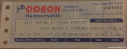 London Ticket 1989