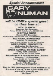 The OMD Tour