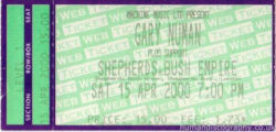 London Ticket 2000