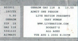 Cincinnati Ticket 2006