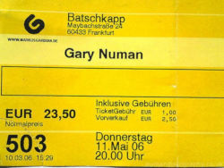 Frankfurt Ticket 2006