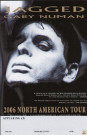 Gary Numan Jagged Tour Poster 2006 USA
