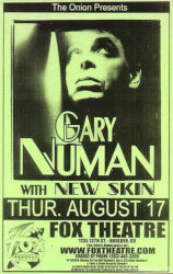 Gary Numan Jagged Venue Poster 2006 USA