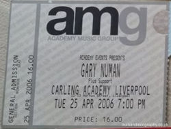 Liverpool Ticket 2006