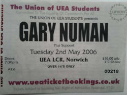 Norwich Ticket 2006
