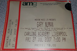 Liverpool Ticket 2007