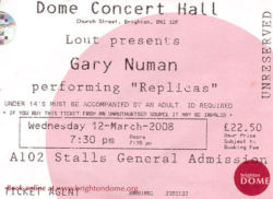 Brighton Ticket 2008