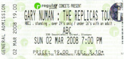 Glasgow Ticket 2008