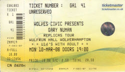 Wolverhampton Ticket 2008