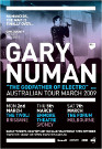 Gary Numan Tour Poster 2009 UK