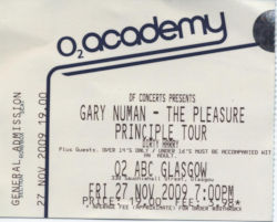 Glasgow Ticket 2009