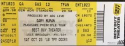 New York Ticket 2010
