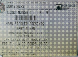 London Ticket June 2012