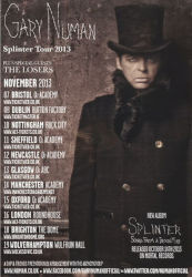 Gary Numan Splinter 2013