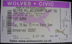 Wolverhampton Ticket 2013