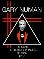 Gary Numan Machine Music Tour Poster