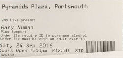Portsmouth Ticket 2016