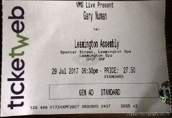 Liverpool Ticket 2017
