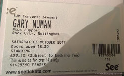 Nottingham Ticket 2017