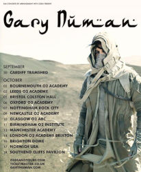 Gary Numan Savage Tour UK 2017