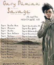 Gary Numan Savage Tour 2018