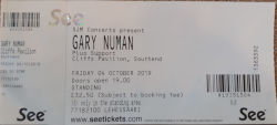 Gary Numan Southend Ticket 2019